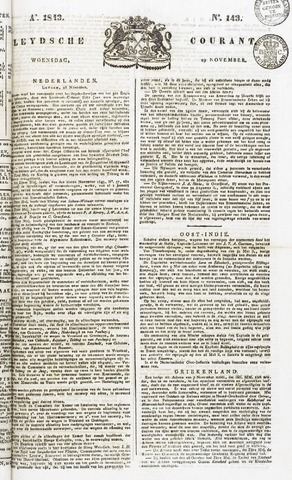 Leydse Courant 1843-11-29