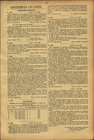 Handelingen van de Raad 1889-07-01