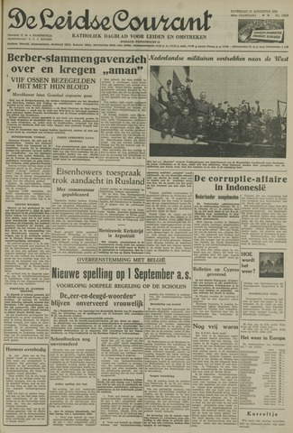 Leidse Courant 1955-08-27