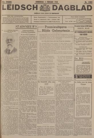 Leidsch Dagblad 1938-02-03