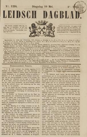 Leidsch Dagblad 1864-05-10