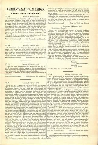 Handelingen van de Raad 1910-02-08