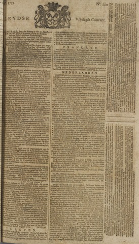 Leydse Courant 1772-09-11