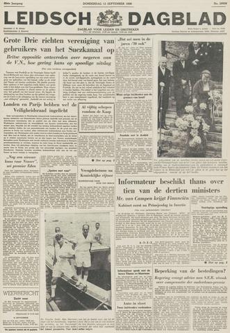 Leidsch Dagblad 1956-09-13