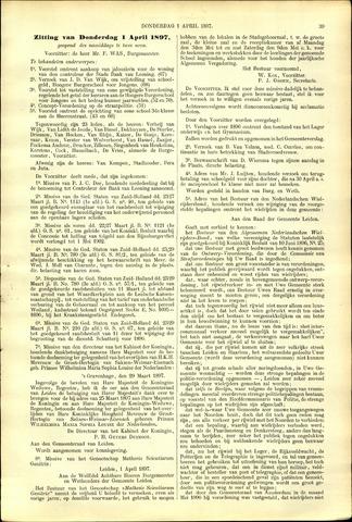 Handelingen van de Raad 1897-04-01