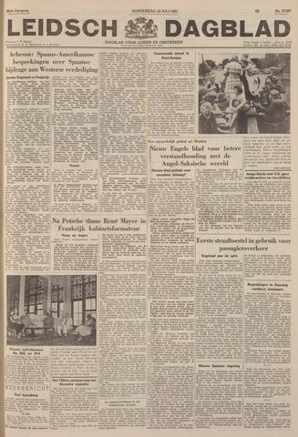 Leidsch Dagblad 1951-07-19