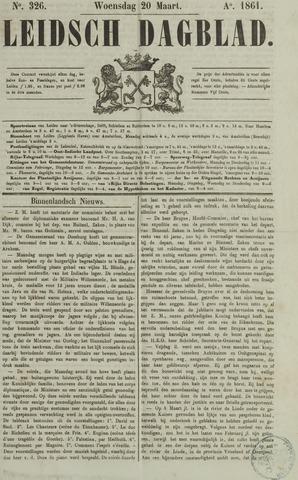 Leidsch Dagblad 1861-03-20