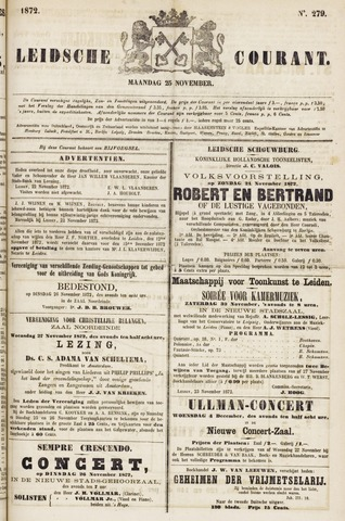 Leydse Courant 1872-11-25