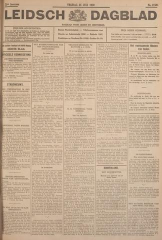 Leidsch Dagblad 1930-07-25