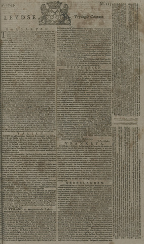 Leydse Courant 1743-10-18