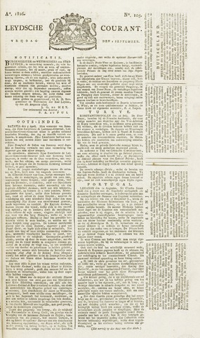 Leydse Courant 1826-09-01