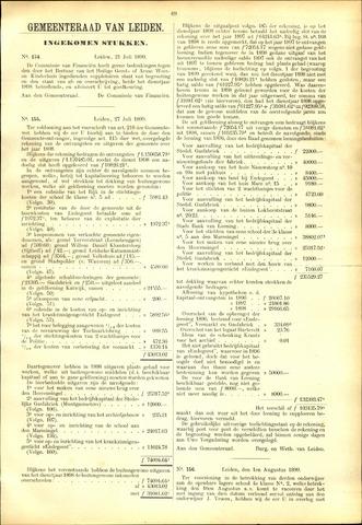 Handelingen van de Raad 1899-07-21