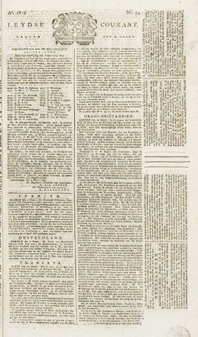 Leydse Courant 1819-03-19