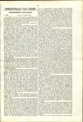 Handelingen van de Raad 1906-10-29