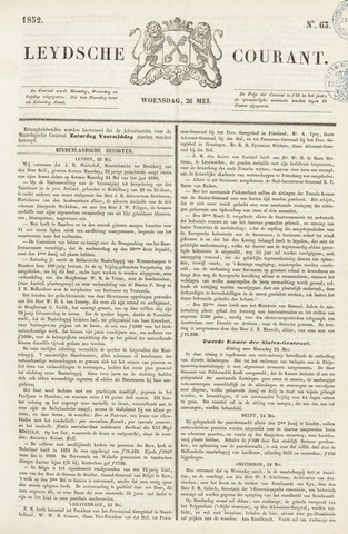 Leydse Courant 1852-05-26