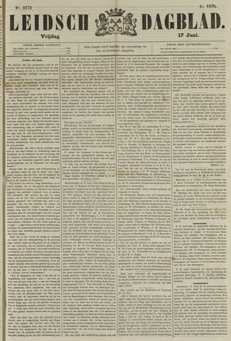Leidsch Dagblad 1870-06-17