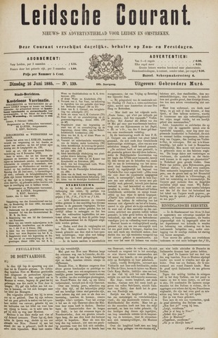 Leydse Courant 1885-06-16