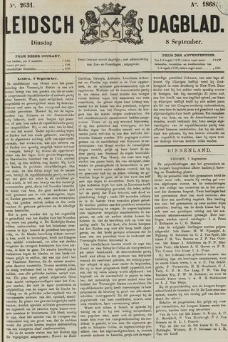 Leidsch Dagblad 1868-09-08