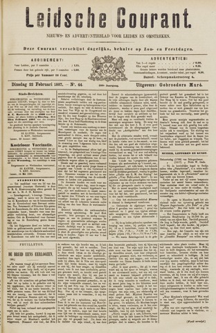 Leydse Courant 1887-02-22