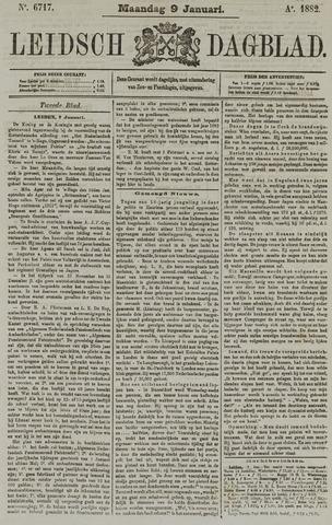 Leidsch Dagblad 1882-01-09
