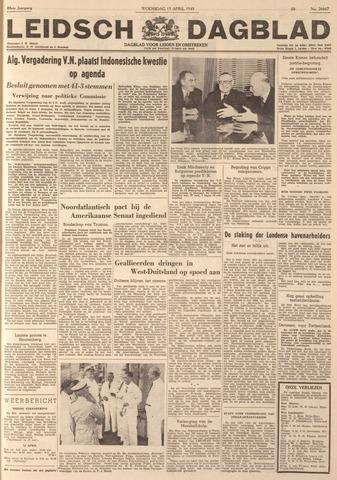 Leidsch Dagblad 1949-04-13