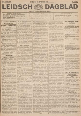 Leidsch Dagblad 1928-09-15
