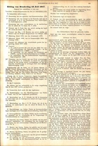 Handelingen van de Raad 1917-07-12