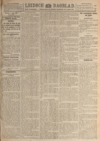 Leidsch Dagblad 1921-04-04