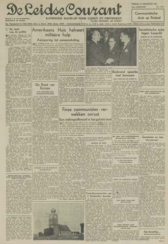 Leidse Courant 1949-08-19