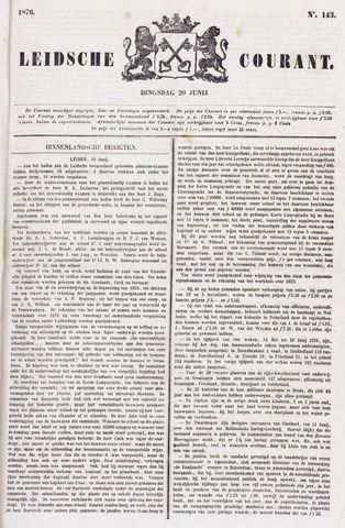 Leydse Courant 1876-06-20