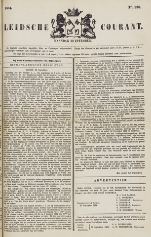 Leydse Courant 1884-09-29