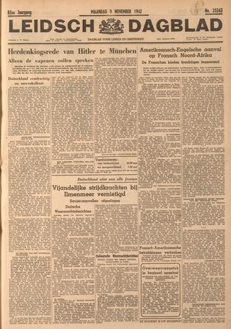 Leidsch Dagblad 1942-11-09