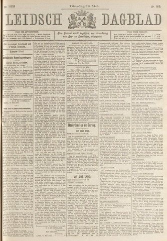 Leidsch Dagblad 1915-05-18