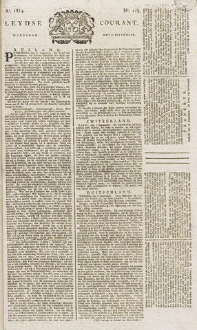 Leydse Courant 1814-09-21