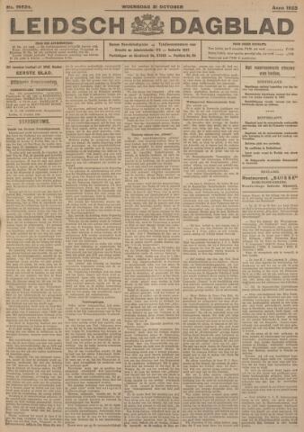 Leidsch Dagblad 1923-10-31