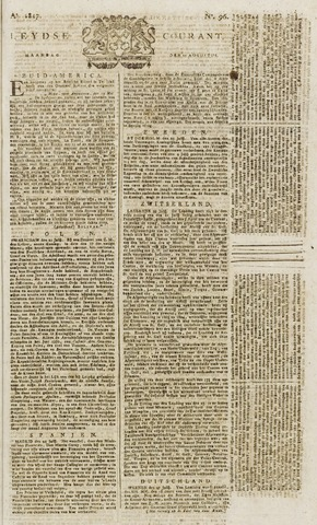Leydse Courant 1817-08-11