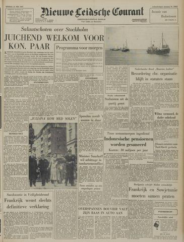 Nieuwe Leidsche Courant 1957-05-21
