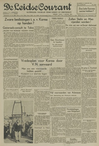 Leidse Courant 1951-01-15