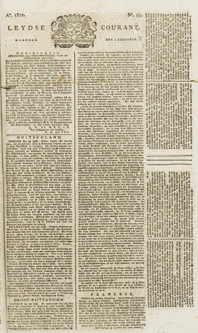 Leydse Courant 1822-08-05