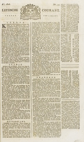 Leydse Courant 1826-03-10