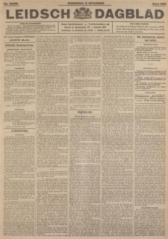 Leidsch Dagblad 1923-11-14