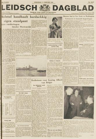 Leidsch Dagblad 1954-02-17