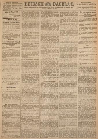 Leidsch Dagblad 1923-02-23
