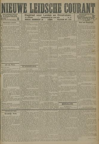 Nieuwe Leidsche Courant 1921-06-30