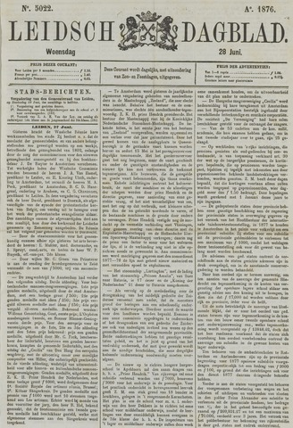 Leidsch Dagblad 1876-06-28