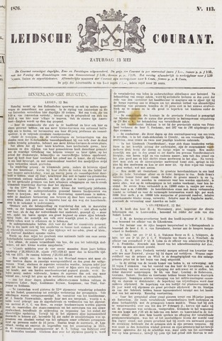 Leydse Courant 1876-05-13