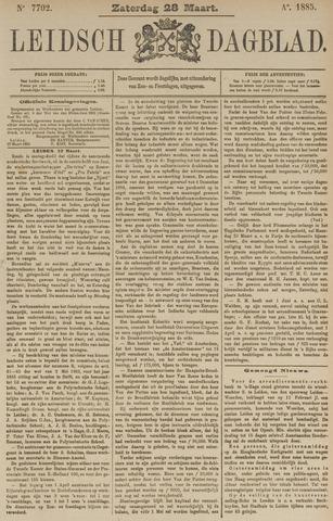 Leidsch Dagblad 1885-03-28