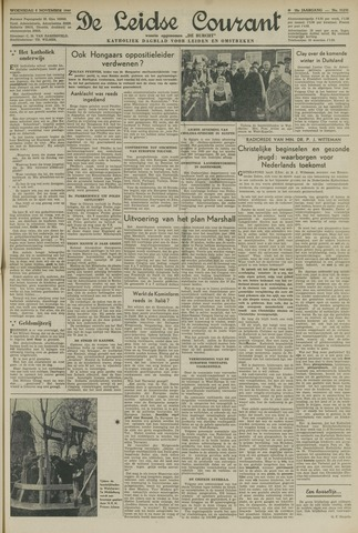 Leidse Courant 1947-11-05