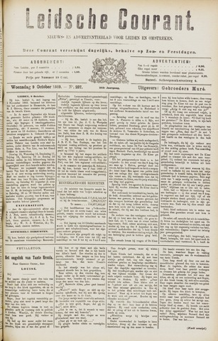Leydse Courant 1889-10-09
