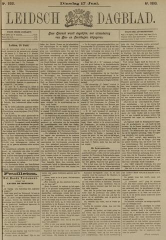 Leidsch Dagblad 1890-06-17